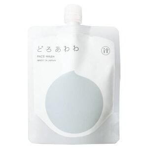どろあわわ どろ豆乳石鹸 110g 洗顔石鹸 洗顔料 洗顔フォーム 洗顔 泡 泥 ドロ 石鹸 豆乳(2個以上から代引き可) 【あす楽対応】【送料無料】