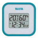 タニタ(TANITA) デジタル温湿度計 置き掛け両用タイプタイプ/マグネット付 ブルー TT-558-BL