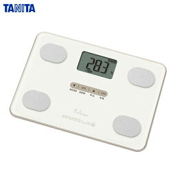 TANITA(タニタ) 体組成計 フィットスキャン FS-101-WH ホワイト (体重計/体脂肪/内蔵脂肪/BMI) 薄型コンパクトモデル【あす楽対応】