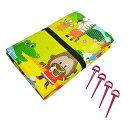 クッションレジャーシート 動物ランド 3畳 180×240cm