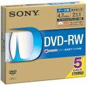 SONY DVD−RW5マイ 5DMW47HPS