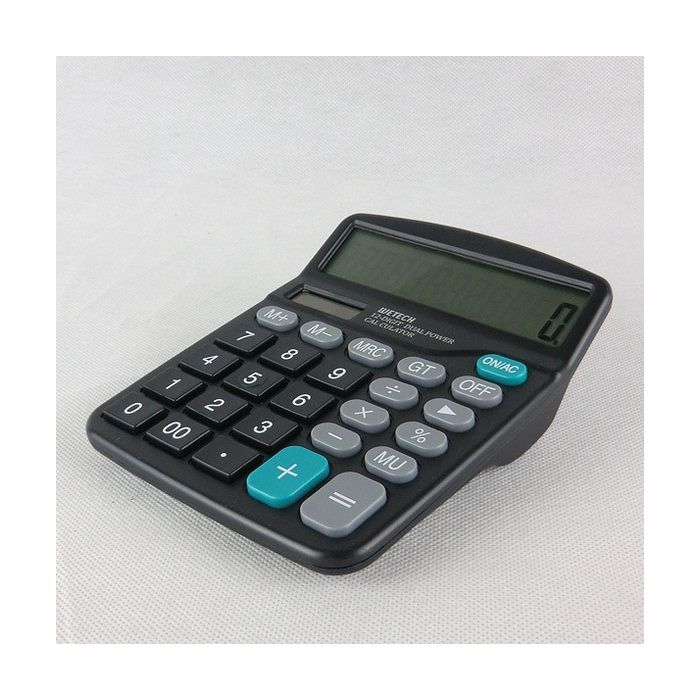 12桁電卓 計算 数字 家計簿 簿記 数学 計...の紹介画像2