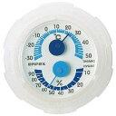 EMPEX (エンペックス) 温・湿度計 シュクレミニ温度・湿度計 TM-2381 クリアホワイト