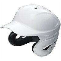 SSK 野球 ソフトボール用両耳付きヘルメット ホワイト(10) Oサイズ H6000の画像