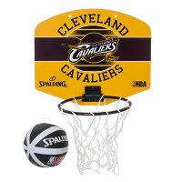 SPALDING スポルディング マイクロミニバックボード キャバリアーズ ミニバスケットゴール ボールセットの画像