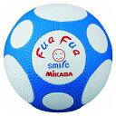 ミカサ(MIKASA) ふあふあサッカーボール 4号球 ホワイト×ブルー FFF4WB