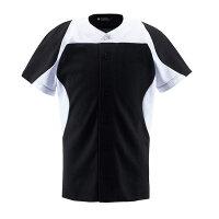 デサント(DESCENTE) ユニフォームシャツ カラーコンビネーションシャツ(フルオープン) DB1014 【送料無料】の画像