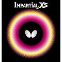 バタフライ(Butterfly) 表ラバー IMPARTIAL XS(インパーシャルXS) 00420 【カラー】レッド 【サイズ】MAX