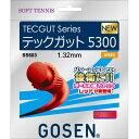 羽毛球 - GOSEN(ゴーセン) テックガット5300 レッド SS603RE