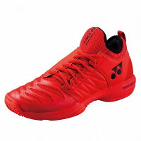 Yonex 【サイズ】25.5 テニスシューズ POWER CUSHION FUSIONREV3 MEN GC SHTF3MGC 【カラー】レッドの画像