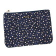 シーバイクロエ SEE BY CHLOE ポーチ バッグ 9P7520 MEDIUM ZIPPED POUCH MAZARINE BLUE STARS BL【楽ギフ_包装】