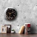 掛け時計 北欧 アンティーク 時計 壁掛け 木製 「壁掛け時計 レトロ」【送料無料】