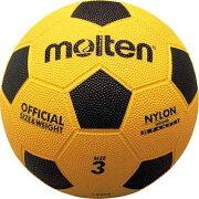 モルテン(Molten) 亀甲ゴムサッカーボール(3号球)黄x黒