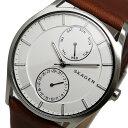 スカーゲン SKAGEN クオーツ メンズ 腕時計 SKW6176 ホワイト【送料無料】【楽ギフ_包装】