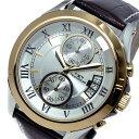 テクノス TECHNOS クオーツ メンズ クロノ 腕時計T4346PS シルバー【送料無料】【楽ギフ_包装】