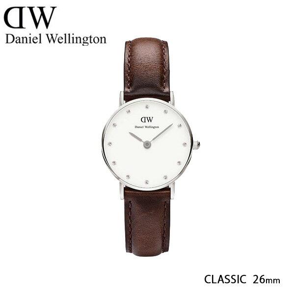 ダニエル ウェリントン セントモース/シルバー 26mm クオーツ 腕時計 0920DW【_包装】 【ラッピング無料】