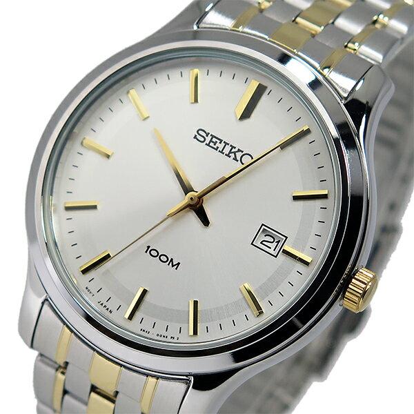 セイコー SEIKO クオーツ メンズ 腕時計 SUR147P1 シルバー/ゴールド【送料無料】【_包装】 【送料無料】【ラッピング無料】