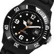 アイスウォッチ フォーエバー クオーツ ユニセックス 腕時計 時計 SI.BK.U.S.09 ブラック【楽ギフ_包装】