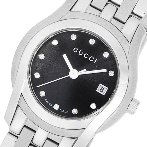 グッチ GUCCI Gクラス クオーツ レディース 腕時計 YA055534 ブラック【送料無料】【_包装】 【送料無料】【ラッピング無料】