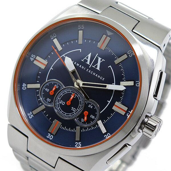 アルマーニ エクスチェンジ クオーツ クロノ メンズ 腕時計 AX1800 ネイビー【送料無料】【_包装】 【送料無料】【ラッピング無料】【かなりの】
