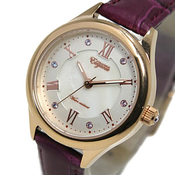 グランドール GRANDEUR クオーツ レディース 腕時計 ESL060W3 ピンクゴールド【送料無料】【_包装】 【送料無料】【ラッピング無料】