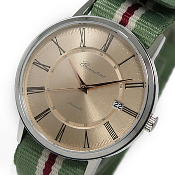 グランドール ハミルトン GRANDEUR TRIPP TRAPP クオーツ メンズ 腕時計 ジョンストンズ GSX059W3 ピンクゴールド【送料無料】【_包装】:リコメン堂ファッション館【送料無料】【ラッピング無料】