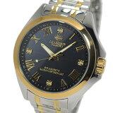 ジョンハリソン ソーラー 電波時計 メンズ 腕時計 時計 JH-086GB ガンメタ/ゴールド【楽ギフ_包装】