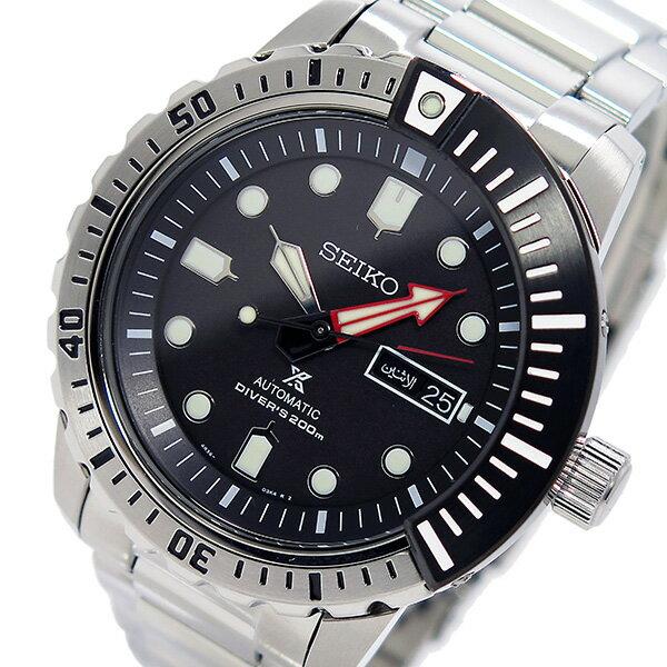 セイコー SEIKO プロスペックス PROSPEX メンズ 自動巻き 腕時計 SRP587K1 ブラック【送料無料】【_包装】 【送料無料】【ラッピング無料】一般