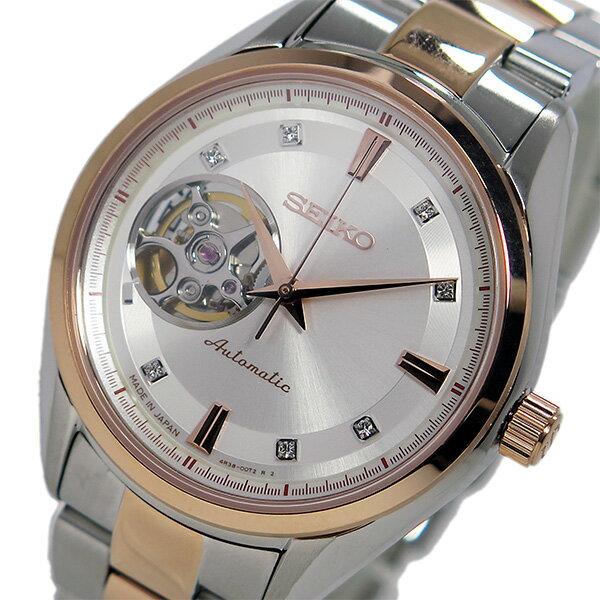 セイコー SEIKO プレサージュ 自動巻き メンズ 腕時計 SSA866J1 ホワイト【送料無料】【_包装】 【送料無料】【ラッピング無料】