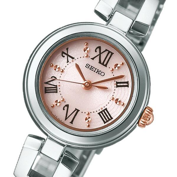 セイコー SEIKO ティセ ソーラー レディース 腕時計 SWFA153 ピンク 国内正規【送料無料】【_包装】 【送料無料】【ラッピング無料】