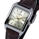 カシオ CASIO クオーツ レディース 腕時計 時計 LTP-V007L-9E シャンパンゴールド【楽ギフ_包装】
