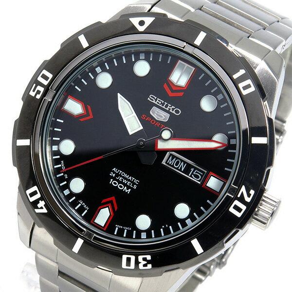 セイコー SEIKO 自動巻き メンズ 腕時計 SRP673J1 ブラック【送料無料】【_包装】 【送料無料】【ラッピング無料】