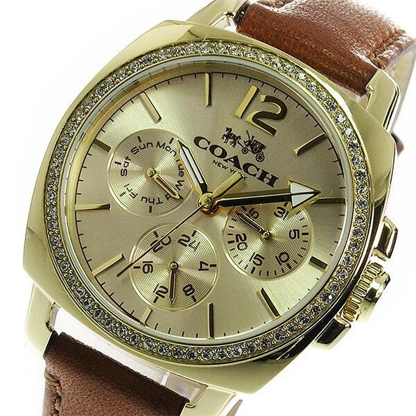 コーチ COACH クオーツ レディース 腕時計 14502172 ゴールド【送料無料】【_包装】 【送料無料】【ラッピング無料】