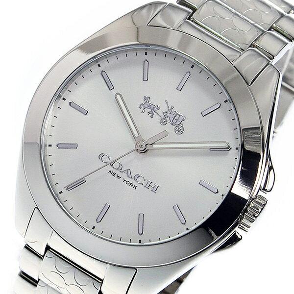 コーチ COACH クオーツ レディース 腕時計 14502177 ホワイト【送料無料】【_包装】 【送料無料】【ラッピング無料】