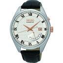 セイコー SEIKO キネティック クオーツ メンズ 腕時計 SRN073P1 シルバー【送料無料】