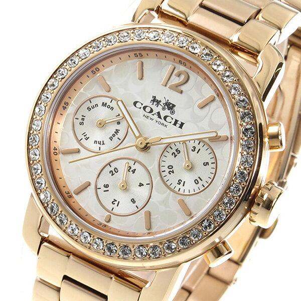 コーチ COACH クオーツ レディース 腕時計 14502371 ピンクゴールド【送料無料】【_包装】 【送料無料】【ラッピング無料】