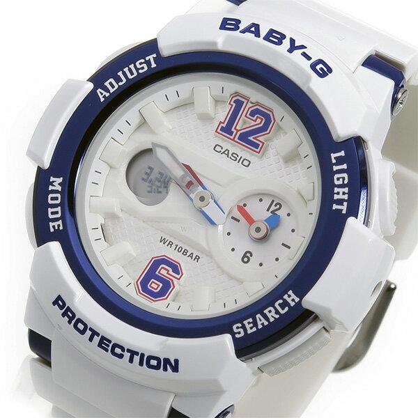 カシオ ベビーG BABY-G クオーツ レディース 腕時計 BGA-210-7B2 ホワイト【送料無料】【_包装】 【送料無料】【ラッピング無料】