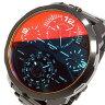 ディーゼル DIESEL クオーツ メンズ 腕時計 DZ7362 ブラック【送料無料】【楽ギフ_包装】