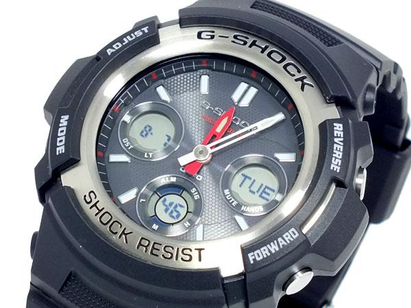 カシオ CASIO Gショック G-SHOCK アナデジ ソーラー 腕時計 AWR-M100-1A【送料無料】【_包装】 【送料無料】【ラッピング無料】