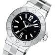 ブルガリ BVLGARI ディアゴノ 自動巻き メンズ 腕時計 DG40BSSD ブラック【送料無料】【楽ギフ_包装】