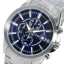シチズン CITIZEN クロノ クオーツ メンズ 腕時計 時計 AN3560-51L ネイビー【楽ギフ_包装】