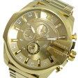 ディーゼル DIESEL メガチーフ メンズ クオーツ クロノ 腕時計 時計 DZ4360 ゴールド【楽ギフ_包装】