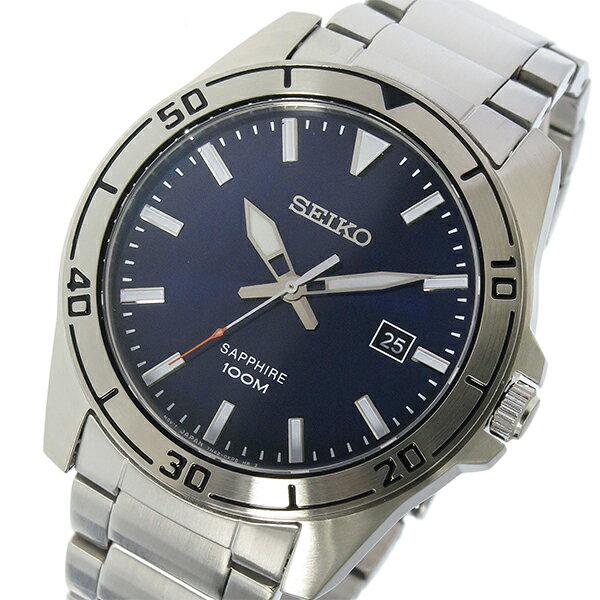 セイコー SEIKO クオーツ メンズ 腕時計 SGEH61P1 ネイビー【送料無料】【_包装】 【送料無料】【ラッピング無料】白い