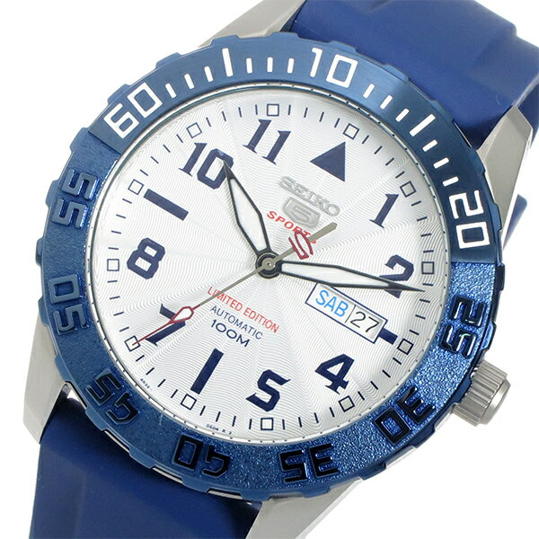 セイコー セイコー5 SEIKO 5 スポーツ 自動巻き メンズ 腕時計 SRP785K1 ホワイト【送料無料】【_包装】 【送料無料】【ラッピング無料】