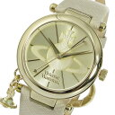 手錶 - ヴィヴィアン ウエストウッド クオーツ レディース 腕時計 VV006GDCM ゴールド【送料無料】