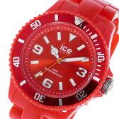 アイスウォッチ ICE WATCH アイス ソリッド ICE SOLID クオーツ ユニセックス 腕時計 時計 SDRDUP12 レッド【楽ギフ_包装】