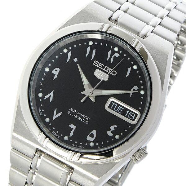 セイコー SEIKO セイコー5 自動巻き メンズ 腕時計 SNK063J5 ブラック【送料無料】【_包装】 【送料無料】【ラッピング無料】
