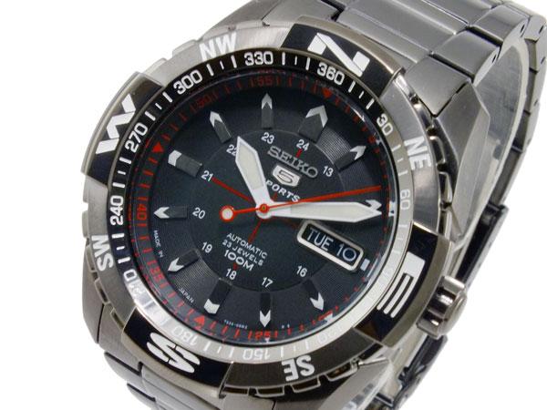 セイコー SEIKO セイコー5 スポーツ SPORTS 自動巻き メンズ 腕時計 SNZJ11K1 ブラック【送料無料】【_包装】 【送料無料】【ラッピング無料】