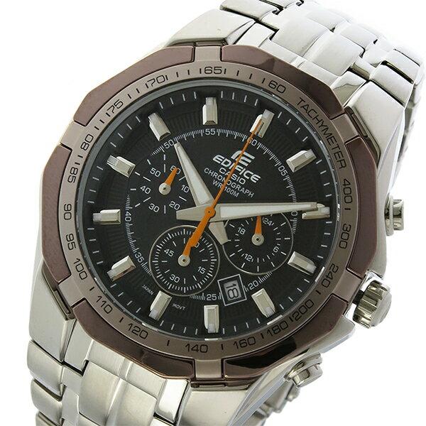 カシオ CASIO エディフィス EDIFICE クロノ クオーツ メンズ 腕時計 EF-540D-1A5 ブラック【送料無料】【_包装】 【送料無料】【ラッピング無料】