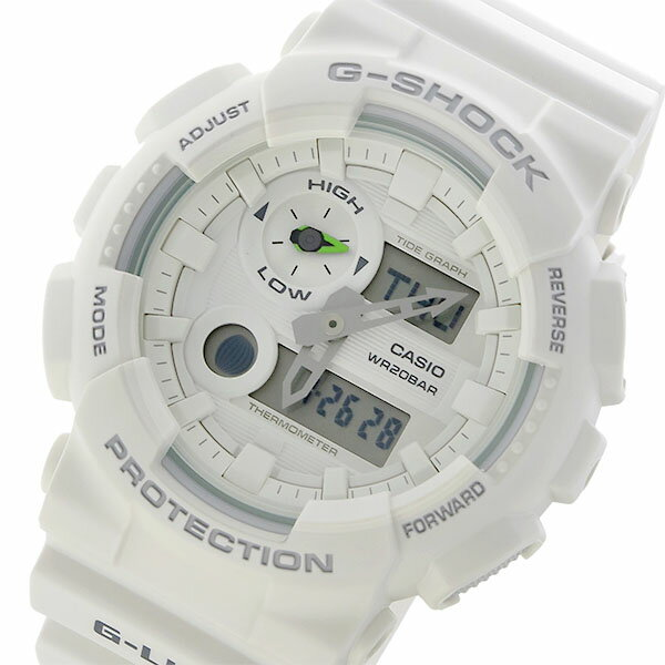 カシオ CASIO Gショック G-SHOCK Gライド G-LIDE クオーツ メンズ 腕時計 GAX-100A-7A ホワイト【送料無料】【_包装】 【送料無料】【ラッピング無料】